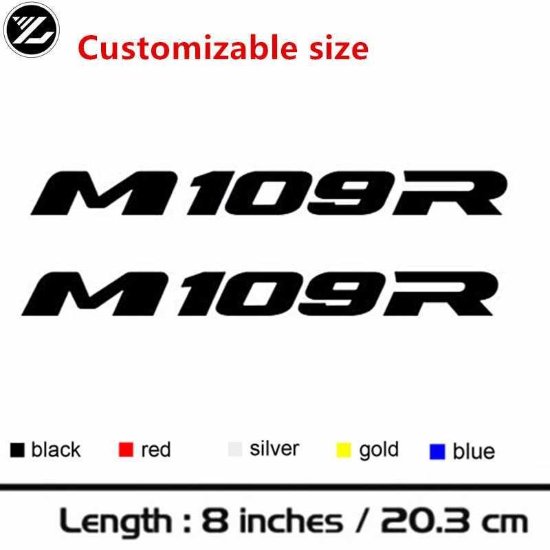 Moto rcycle モデルステッカーボディステッカーヘルメット人格 pegatinas moto gp ステッカースズキステッカー M109R M 109 R