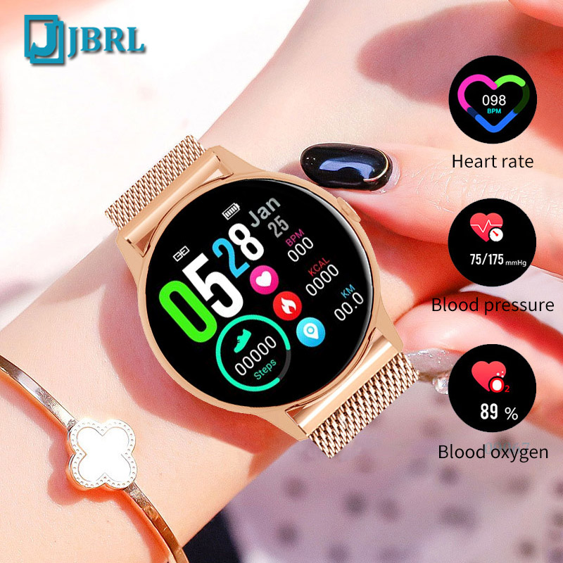 Full Touch Smart Watch Women Luxury Smartwatch Fitness Tracker For Android IOS Smart Clock Electronics Bluetooth Smart-watch image