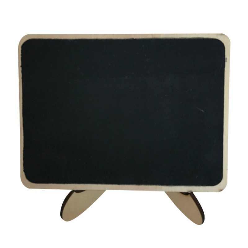 Wooden Message Board Party Banquet Restaurants Decoration Blackboard Mini Chalkboards Decorative Signs Blackboard