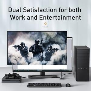 Image 2 - Разветвитель Baseus 4K HDMI двунаправленный 2,0 HDMI переключатель 1x2 и 2x1 адаптер 2 в 1 выход преобразователь HDMI переключатель для PS5 PS4 HD ТВ приставки