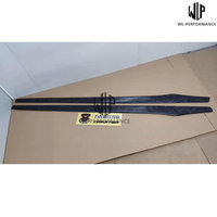 High Quality Forged Carbon Side Skirts Car Styling Fits For Audi Mercedes Benz BMW Universal Side Skirts Blade Style