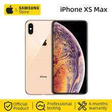 Unlocked Original Apple iPhone XS Max 256GB 6.5-inch Smartphone With Dual Card and Full Screen (Used 95% New)