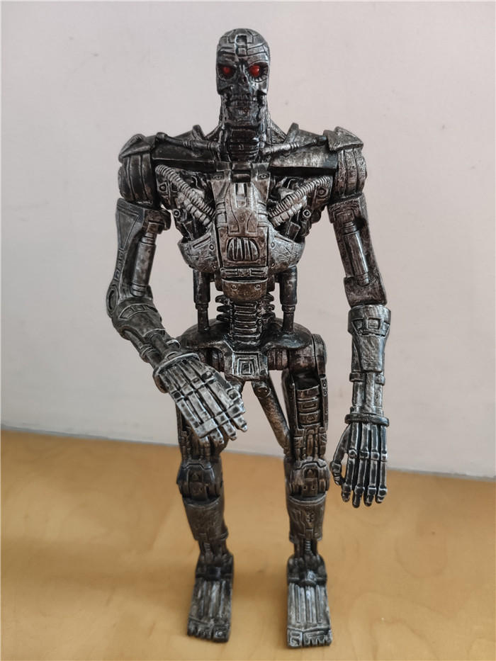 Original Toy 20cm Terminator T-600 Action Figure Collectible Model Loose Toy For Gift