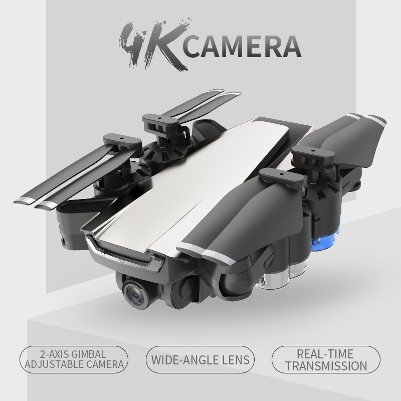 New GPS Drone with 4K HD Adjustment 50x zoom Camera Wide Angle WIFI FPV RC Quadcopter Professional Foldable Drones