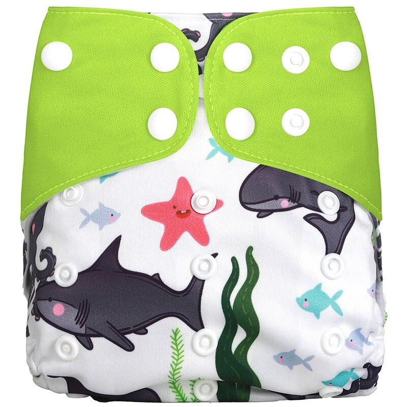 [Simfamily] 1 шт. многоразовые тканевые подгузники, регулируемые детские подгузники, моющиеся подгузники, подходят для 3-15 кг детские подгузники - Цвет: NO9