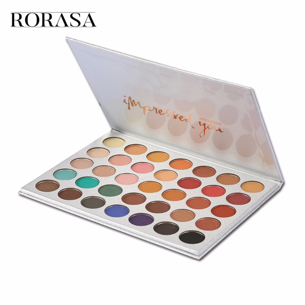 Beauty Tools Chic 35 Color New Face Makeup Eyeshadow Palette Shades Shimmer Matte Eyeshadow Pallete Cosmetics For Morphes Style 4