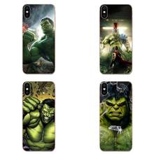 Mobile Covers For Galaxy Alpha Note 10 Pro A10 A20 A20E A30 A40 A50 A60 A70 A80 A90 M10 M20 M30 M40 The Incredible Hulk(China)