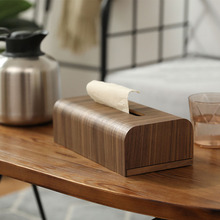 Офисный Съемный Деревянный японский стиль, коробка для салфеток, модный Настольный контейнер, держатель для салфеток, для хранения, для гостиной, для дома