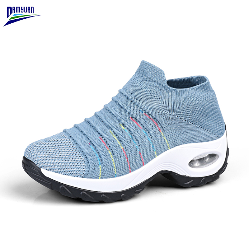 Купить 2020 новая весенняя модная обувь женские дышащие мягкие кроссовки