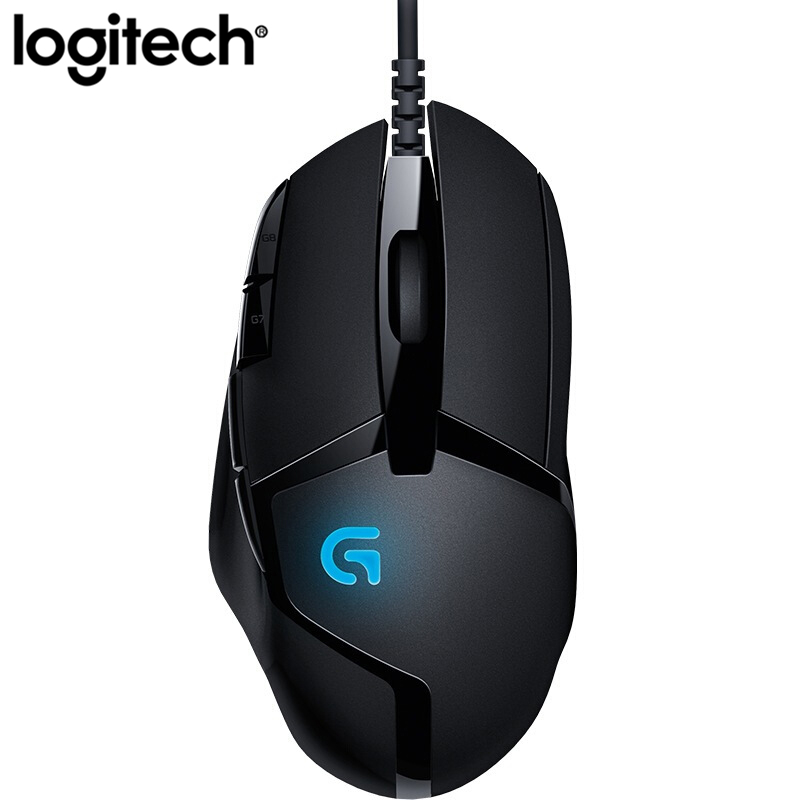 Logitech G402 Hyperion Fury FPS Gaming Mouse Optical 4000DPI High Speed Gaming Mouse For PC Laptop Support Windows XP/Vista/7/8 image