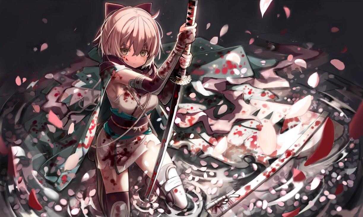 【带兵器的冷酷少女们】日本画师「茨乃」二次元人物插画作品_图片 No.13