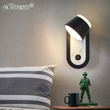 Современные светодиодный настенные светильники акриловые лампы