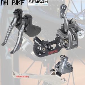 SENSAH EMPIRE 2x11 speed 22s дорожный велосипед набор переключателей + передний задний переключатель 5800 R7000 ultegra 105 R8000 велосипедный 11s force