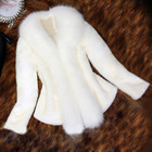 Elegant Faux Fur Col...
