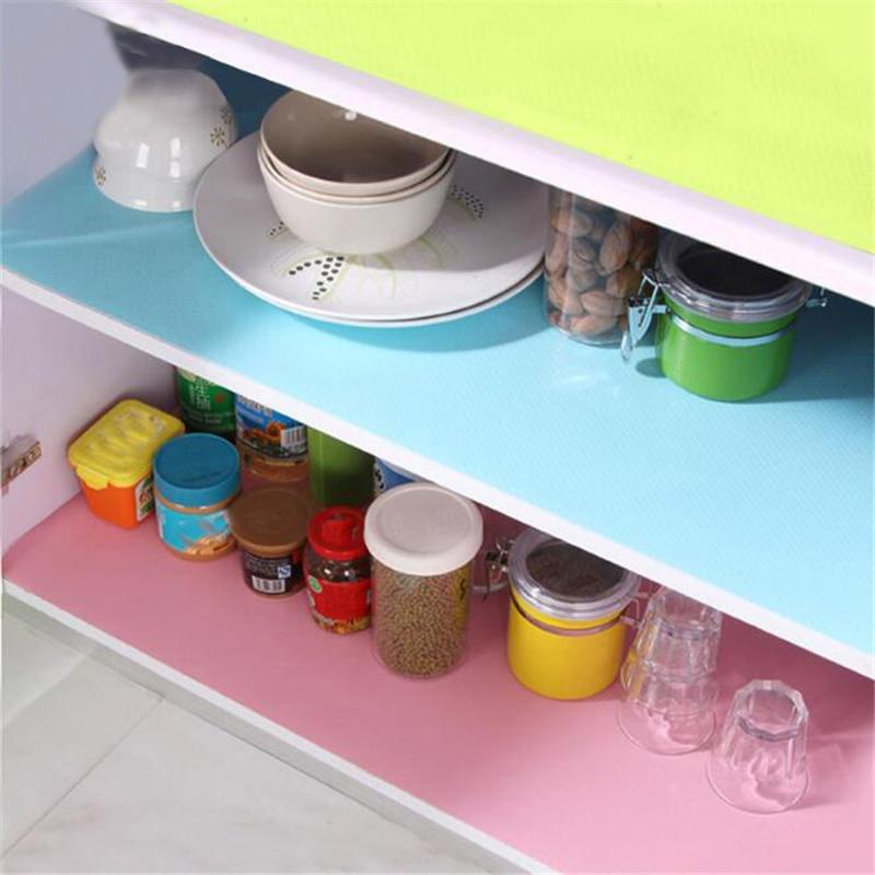 Non Slip Waterproof Shelf Liners Drawer Liner Mat for Kitchen Cabinet Cupboard