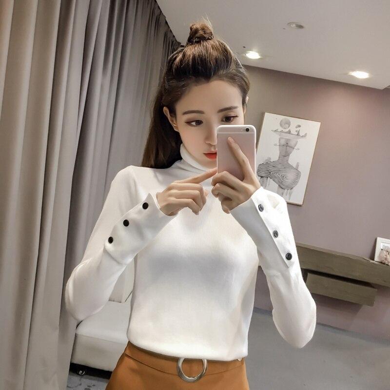 2019 Autumn Stitching Korean Version Of The Wild Fashion Casual Trend Elegant Sweater