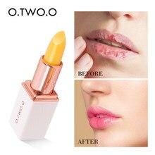 O.TWO.O Farben Ständig wechselnden Lip Balm Lippenstift Lang Anhaltende Hygienische Feuchtigkeitsspendende Lippenstift Anti Aging Make-Up Lip Pflege