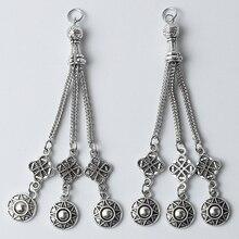 Charm Pendants Beads-Accessories Metal Bracelet Necklace Tassel Diy Handmade 3pcs Turkey-Disc