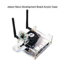 NVIDIA для общения разработчик нано прозрачный чехол набор для акрила с вентилятор охлаждения