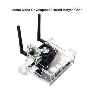 NVIDIA Jetson Nano Developer kit Clear Acrylic Case for Jetson Nano with Cooling Fan(China)