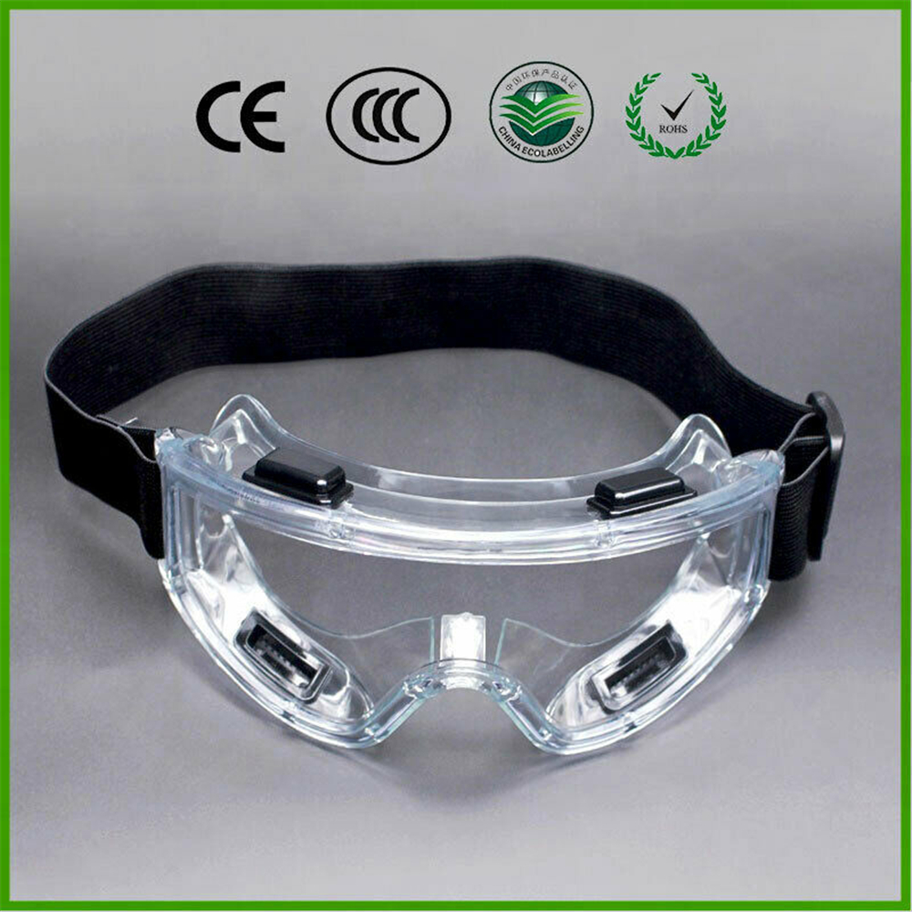 Transparent Safety Goggles Anti-Splash Virus BacteriaI Mpact-Resistant Work Safety Protective Glasses For Rider Eye Protection