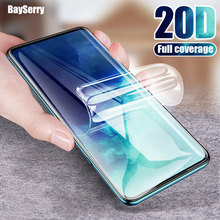 20D Full Cover Hydrogel Film Screen Protector For Samsung Galaxy S20 S10 S9 S8 Plus 5G Film For Samsung Note 10 9 Plus S20 Ultra hydrogel film for samsung note 8 9 10 plus screen protector for samsung galaxy s8 s9 s10 plus s10 lite s7 edge hydrogel film