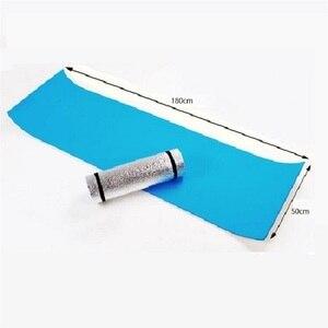 Image 3 - Outdoor camping mat air mattress picnic blanket picnic mat pads Aluminum Foil mat Camping Dampproof beach mat 180*50*0.6cm