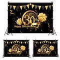 HUIRAN декор для дня рождения 30 40 50 декор для дня рождения для взрослых 30 40 50 дней рождения принадлежности для вечеринки 30 лет на годовщину