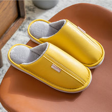 Водонепроницаемые женские тапочки зимняя обувь для дома с мехом