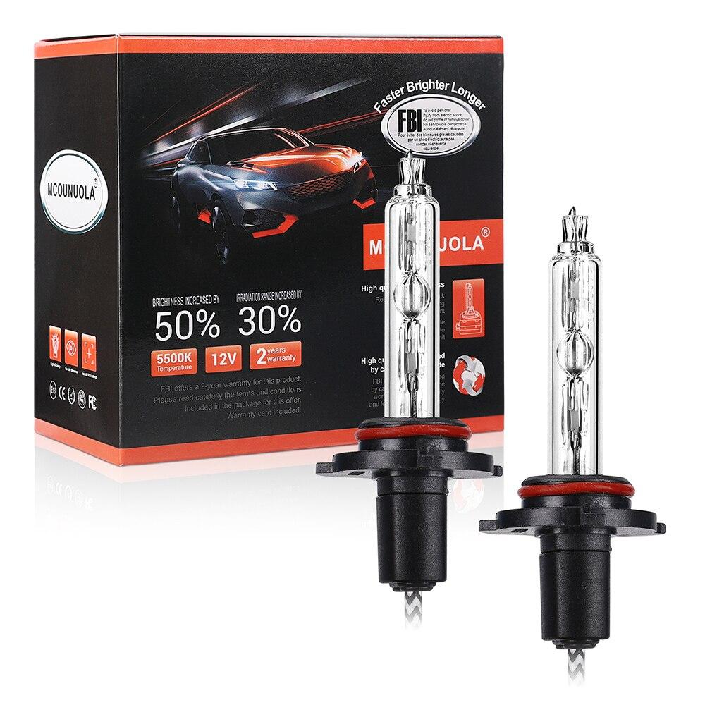 2PCS Xenon BULB H7 55W Slim HID Xenon Headlight Bulb 12V H1 H3 H11 H7 Xenon Hid Kit 4300k 5500k 8000k Replace Halogen Lamp