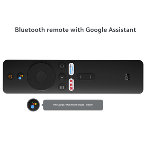 Скидка При заказе от 2 000 Р Глобальная версия Xiaomi Mi TV Stick 1080P Dolby DTS HD декодирование Android TV 9,0 четырехъядерный 1 Гб RAM 8 Гб ROM Google Assistant Netflix
