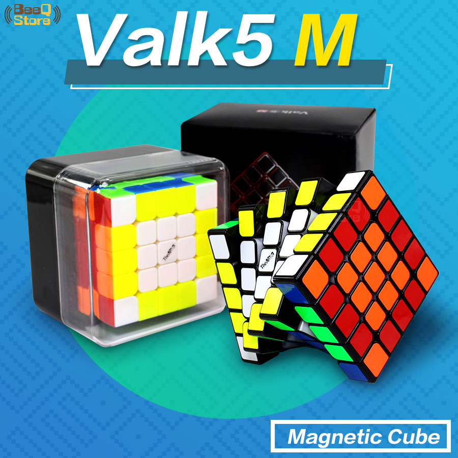 Mofangge Valk5 M 5x5x5 Cube aimant Valk5M 5x5x5 Cube de vitesse magnétique Valk 5 Cubes de compétition Cubo Magico jouet Puzzle par aimant