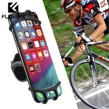 FLOVEME Motorcycle Phone Holder bike Bicycle Handlebar Mount Bracket Accessories 4-6.5