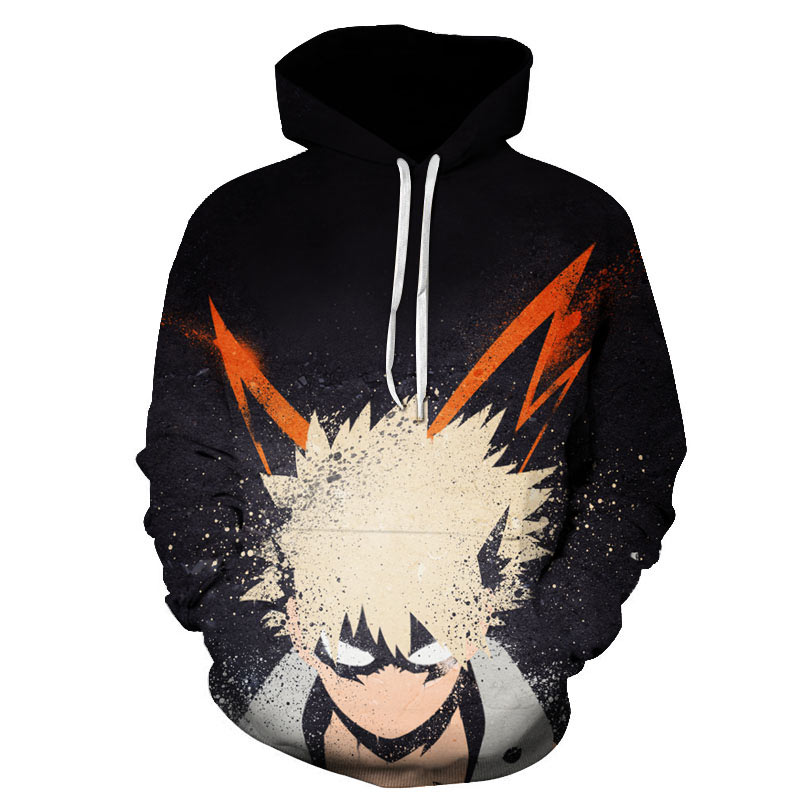 Japan Anime My Hero Academia Cos Hoodies Boku No Hero Academia Midoriya Izuku Bakugou Katsuki Todoroki Sweatshirt Jackets Coat