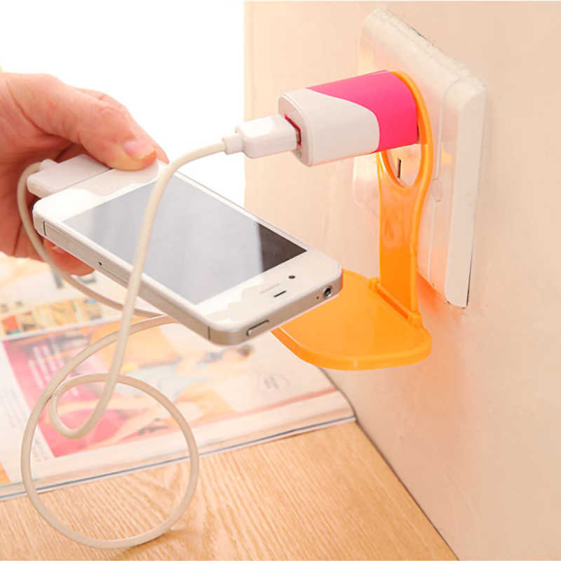 Creative Portable Multifunction Gel Cable Winder USB Unisex Security Phone Holder Accessory Packe Organizer Travel Accessories