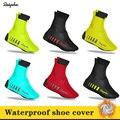 Raphaing/2019 г.; разноцветная зимняя бархатная теплая водонепроницаемая обувь для верховой езды; комплект из обуви для триатлона, горного велоси...