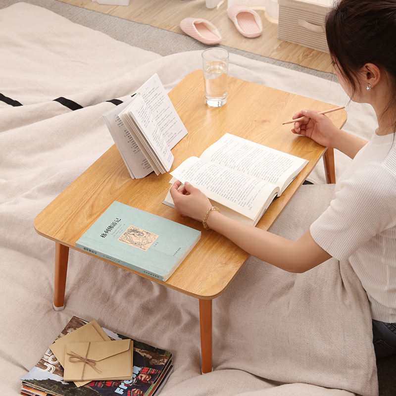 Bed Small Table Laptop Computer Table College Student Dormitory Bed Folding Table Lazy Learning Table