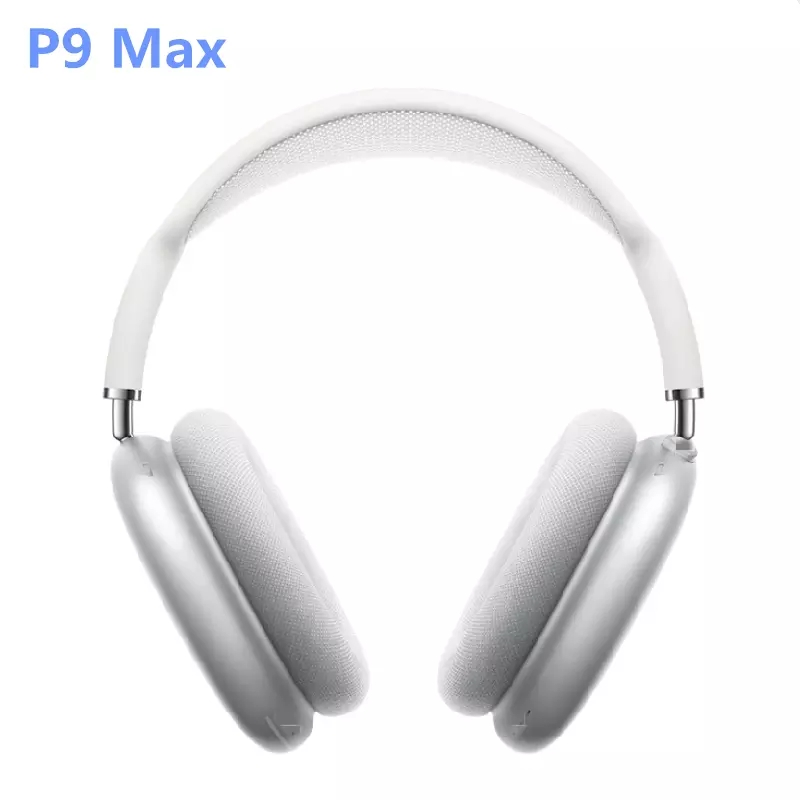 AMTERBEST P9 Max Headsets Bluetooth Headphones Wireless Earphones Bass Noise Cancellations for IOS Android Phone