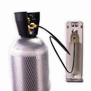 Image 4 - Mới Soda Dòng SodaStream/Soda Câu Lạc Bộ Bên Ngoài Co2 Xe Tăng Adapter Và Vòi Bộ W21.8 14 Hay CGA320 W/nhanh Chóng Ngắt Kết Nối