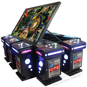 Redemption-Machine Casino Arcade Fish-Video-Table Gambling 100inch-Screen Tickets 10-Players