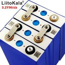 بطارية LiitoKala 3.2 فولت 90 أمبير في الساعة LiFePO4 يمكن أن تشكل بطارية 12 فولت ليثيوم-الحديد فسفا 90000 مللي أمبير في الساعة يمكن أن تجعل بطاريات القوارب ...