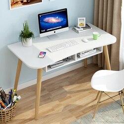 Настольный компьютерный стол, небольшой домашний стол, современный стол для спальни, стол для студентов ikea