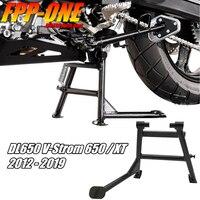 FOR SUZUKI DL650 V Strom 650 XT 2011 2019 Motorcycle Accessories Black Heavy Metal Support Bracke Elevated Parking Rack