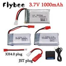 3.7V 1000mAh Lipo Bateria Para Syma 25C X5 X5C X5S X5SW X5SC X5HC X5HW X5UW X5UC X400 X800 HD1315 HJ819 RC Quadcopter Peças De Reposição