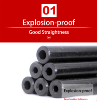 Hydraulic alloy precision steel tubes OD 16mm no rifling seamless pipe explosion-proof