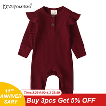 Newborn Rompers Infant Jumpsuit Christmas Baby Autumn Baby-Girls-Boys Winter Pure-Cotton
