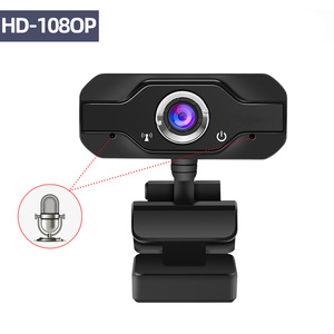 HD Webcam Built-in Dual Mics S