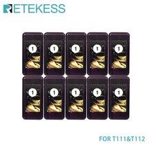 Récepteurs de téléavertisseur 10 pièces pour Retekess T111/T112 système dappel sans fil de téléavertisseur de Restaurant pour la clinique déglise de café de Restaurant