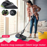 Wonderlife Charging Electric Mop Hand-Held Wireless Electric Rotating 360 Degree Mops Machine Household Cleaning Helpe