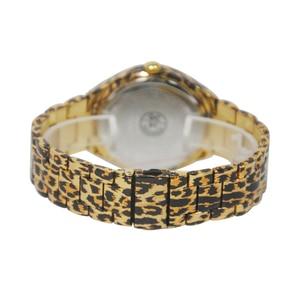Image 5 - PB Watch Women Black Leopard Print Ladies White Crystal Watches Unique Leopard Chain Strap Quartz Fashion Relogio Feminino